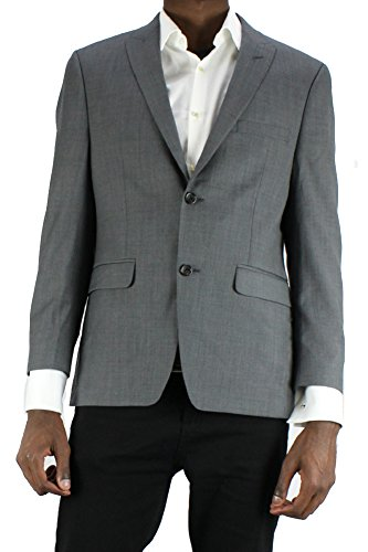 Alfani Grey Pinpoint Slim Fit Jacket S