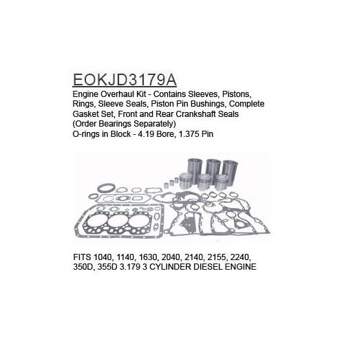 EOKJD3179A John Deere Parts Engine Overhaul Kit 10 big image