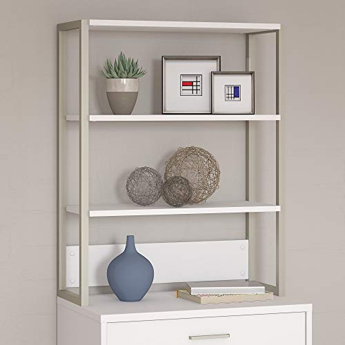 Office by kathy ireland Method Bookcase Hutch in White by Kathy Ireland Office (Image #1)