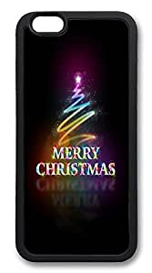 ICORER iPhone 6 Case Merry Christmas Recommended TPU Case Cover for Apple iPhone 6 Black