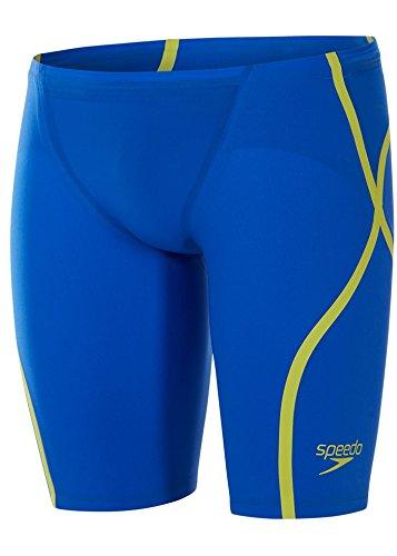 8d3db1915b9 Speedo LZR Racer X Jammer Beautiful Blue/Radical Green Size 24:  Amazon.co.uk: Clothing