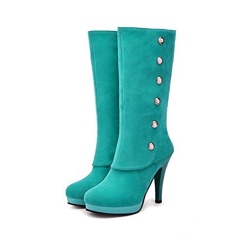 1TO9 1TO9Mns01695 - Sandalias con Cuña Mujer Verde