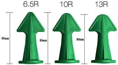 Dichtungsd/üSe /& Schaber Set Silikon-Finisher Dichtungsmasse D/üse Silikonm/örtel Werkzeuge f/ür Badezimmer,Boden,Ecke Silicone Caulking Finisher 3 in 1