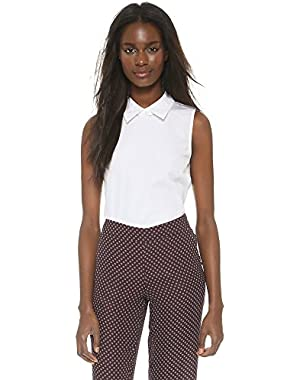 Theory Women's Sartorial Marbie Collared Shirt