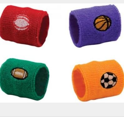 K&A Company Assorted Sports Ball Wrist Bands Case Pack 720 by K&A Company (Image #1)