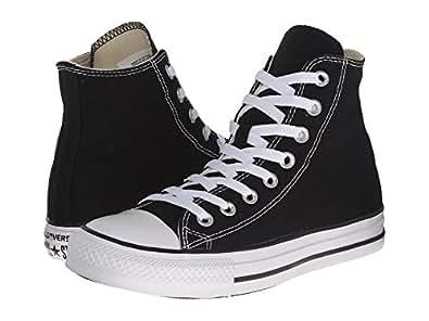 Converse Unisex Chuck Taylor All Star Ox Basketball Shoe (6 B(M) US Women/4 D(M) US Men, Black/White)