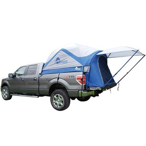 SportZ Truck Tent Blue/Grey (Full Size Short 6.5-Feet (Short Bed Truck Tent)