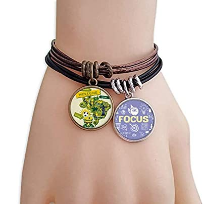 SeeParts Welcom Brazil Summer Soccer Bracelet Rope Wristband Force Handcrafted Jewelry Estimated Price £9.99 -