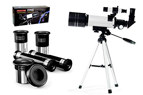 FMG 70mm Refractor Telescope for Kids & Beginners with Tripod