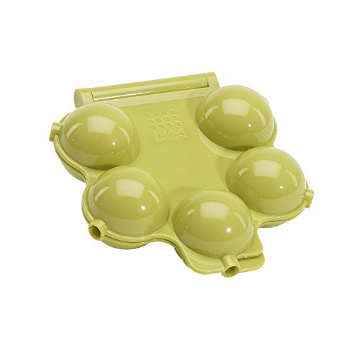 Sweet Creations 5-Cup Halloween Eye Ball Cake Pop Mold, Green]()