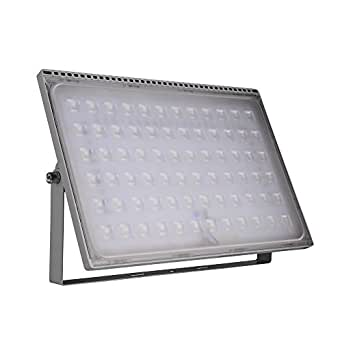 10W 20W 30W 50W 100W 150W 200W 250W 300W 500W High Power LED Flood Light, Coolkun Projector Outdoor Spotlight, Waterproof, SMD Landscape Security Lights (500W Daylight Ultra-thin)