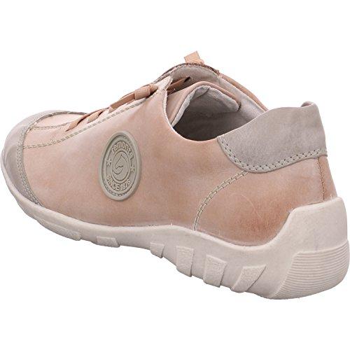 R3445 Femme Sneakers Basses Remonte Gris qtwRz41d
