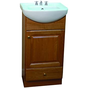 SMALL VANITY FOR BATHROOM  CABINET AND SINK  PE1612OA
