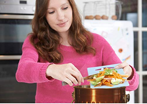 Kitchen Compost Pail Bin for Countertop - Large Capacity 1.5 Gallon Food Scrap Container, Leak proof Copper Coated Stainless Steel - Includes 1 Year of Charcoal Filters & Compost Bags by Gardenatomy (Image #3)