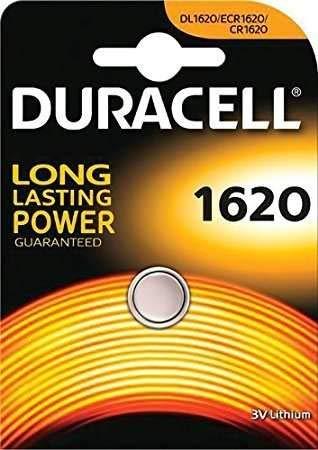 Bateria Duracell CR1620 3V Lithium