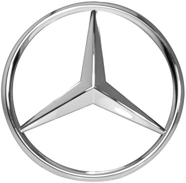 Mercedes-Benz Chrome Front Grill Star Emblem for C-Class E-Class