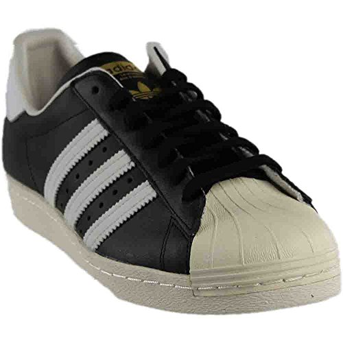 G61069 MEN SUPERSTAR 80S ADIDAS BLACK   WHITE - Import It All 60e738b5f7c8
