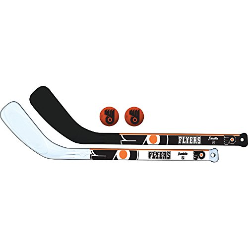 Franklin Sports NHL Philadelphia Flyers Franklin Sports 2-Piece Hockey Stick and Ball -