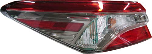For 2018 Toyota Camry Se Model Rear Tail Light Taillamp Driver Left Side Replacement TO2804135 ()