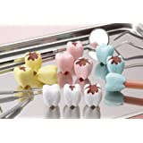 Iwako Pencil Top Erasers /Teeth - Cavity 12pcs. (4 colors)