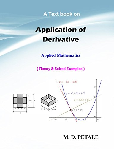 Application of Derivative: Theory & Solved Examples (Applied Mathematics)