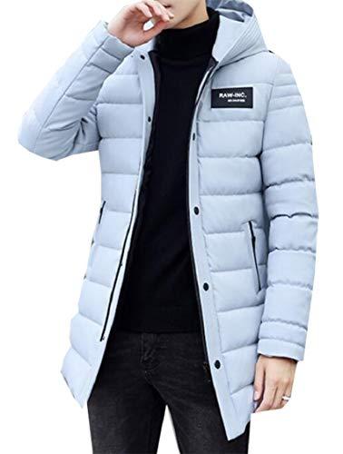 Uomini Inverno Degli Cotone Addensare Gocgt Di Grigio Cappotto Solido Colore Piumino qRxn4UP