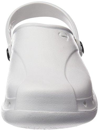 Suecos Unisex-Erwachsene Skoll Arbeitsclogs Elfenbein (White)
