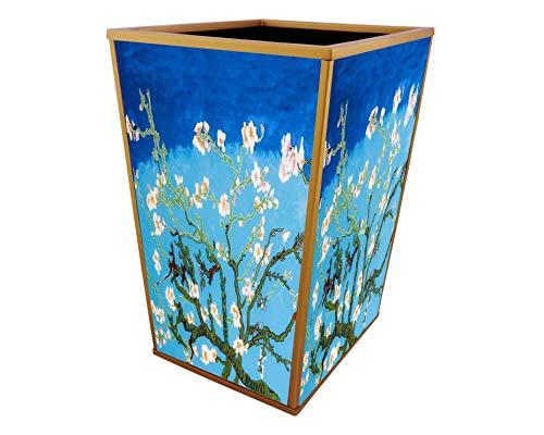 Waste bin - Van Gogh : Amandier en fleurs ()
