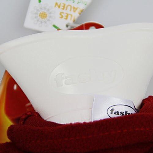 FASHY 6530 Bouillotte en thermoplastique housse 2 L Coloris assortis