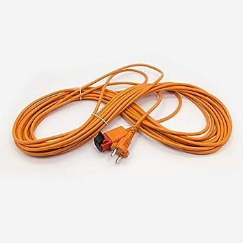 Cable de 15 metros + toma para aspiradora Nilfisk-alto.: Amazon.es: Bricolaje y herramientas