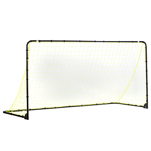 (Franklin Sports Premier Steel Soccer Goal – Portable Soccer Net – Foldable Soccer Goal – 6 Ft by 12 Ft – Kids Backyard Soccer Net – Easy Assembly)