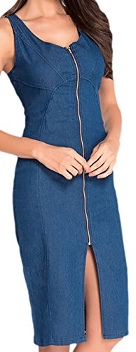 erdbeerloft - Vestido - Opaco - para mujer Azul