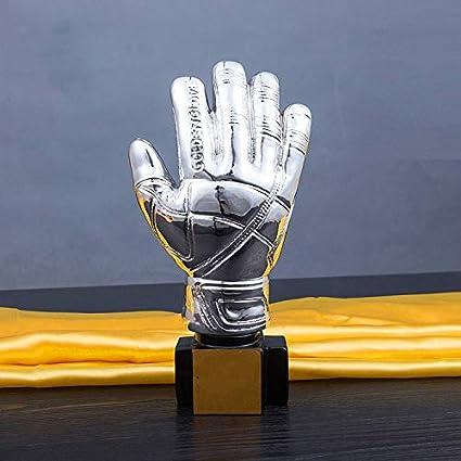Color : Gold WYDM Estatuas Premio Guante de Oro Portero Premio Trofeo Trofeo for la Ceremonia del Partido apreciaci/ón del Regalo del Partido Premios Sport Suministros Recuerdo coleccionables