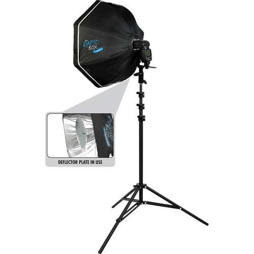 Westcott Rapid Box Octa Kit w/Beauty Dish Deflector Plate by Westcott