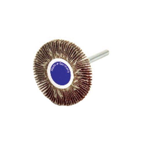 60 Grit Precision Abrasives 80-0964 Mini Flap Wheel Aluminum Oxide 1-3//16 x 3//8 x 1//8