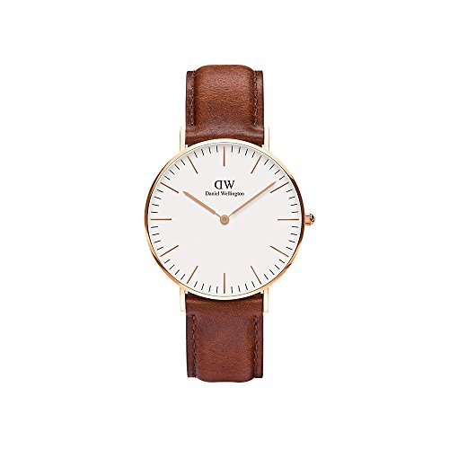 Daniel Wellington Women's 0507DW Classic St. Mawes Stainless Steel Watch with Brown Band ()
