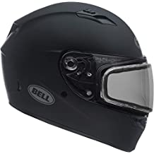 Bell Qualifier Matte Black Snowmobile Helmet with Dual Shield - Small