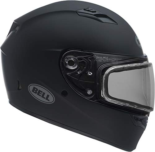 Bell Qualifier Dual Shield Snow Helmet (Matte Black, X-Large) (Snowmobile Helmet)