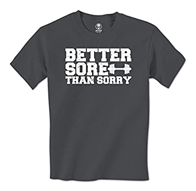 Better Sore Than Sorry - Swift Pigeon Apparel Lifting Mens T-Shirt