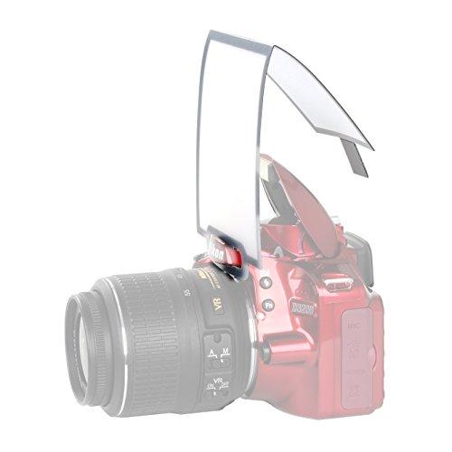Movo Photo SB3 Universal On-Camera Pop-Up Flash Diffuser for DSLR & Mirrorless Cameras