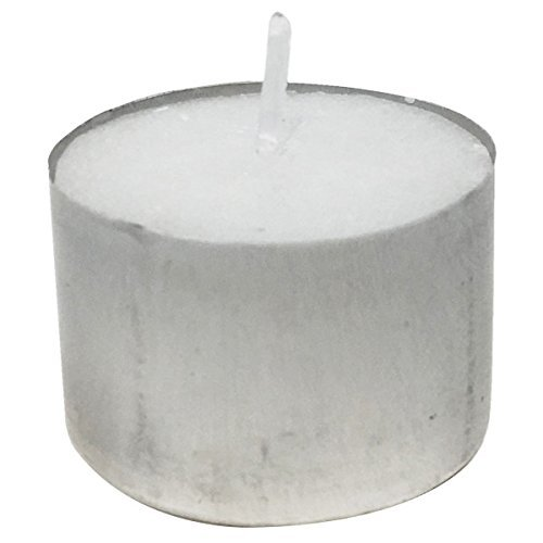 Just Artifacts Speckled Mercury Glass Votive Candle Holder 2.75''H (100pcs, Espresso Votives) w/ 100pcs Wax Tea Light Candles Included by Just Artifacts