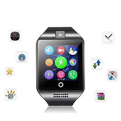 Amazon.com: LPENGBXB 4 Colors NFC Bluetooth Smart Watch Q18S ...