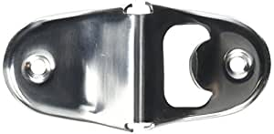 New Star Foodservice 48193 Stainless Steel Wall Mounted Bottle Opener