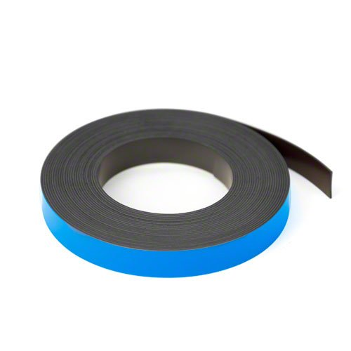 12.7mm x 0.76mm x 5 Metres Magnet Expert Blue 12.7mm wide x 0.76mm thick Magnetic Gridding Tape