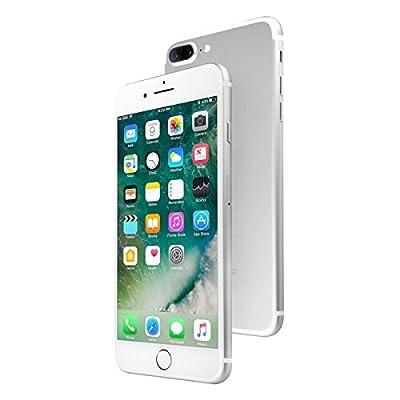 Apple iPhone 7 Plus 128 GB Unlocked, Silver (Certified Refurbished)