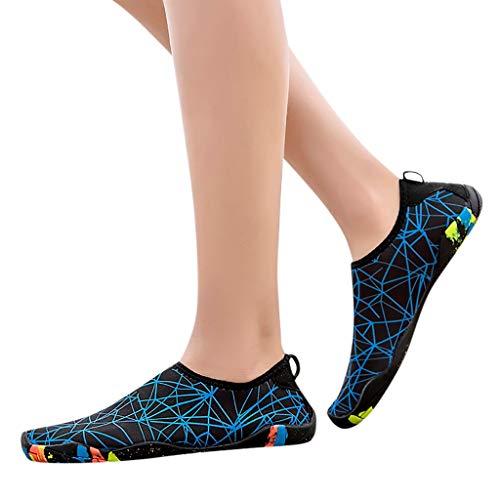 Aqua Unisex Surf on Leggere Ciabatte Swim Uomo Da Shoes Donna Spiaggia Traspiranti Scarpe Yoga Blu~donna Water Acqua Slip Per Beach rZ8wSqzr