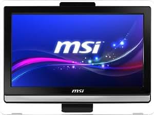 """MSI AE202-001EU - Ordenador All in One (Intel Celeron 1037U de 1.8 GHz, pantalla táctil de 19.5"""", 4 GB de RAM, 500 GB de disco duro, Windows 8.1 actualizable gratuitamente a Windows 10) negro"""