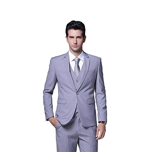 ton Formal 2 Piece Suits Slim Fit Multi-Color Wedding Tuxedo ()