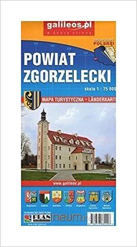 Mapa Powiat Zgorzelecki Gorlitz Zgorzelec Amazon Co Uk