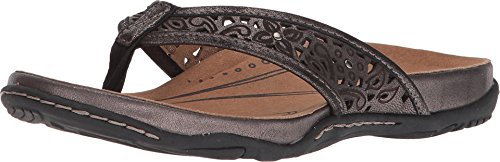 Earth Women's Maya Pewter Distressed Leather 9 B US